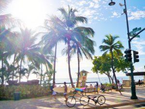 ハワイのビーチ02